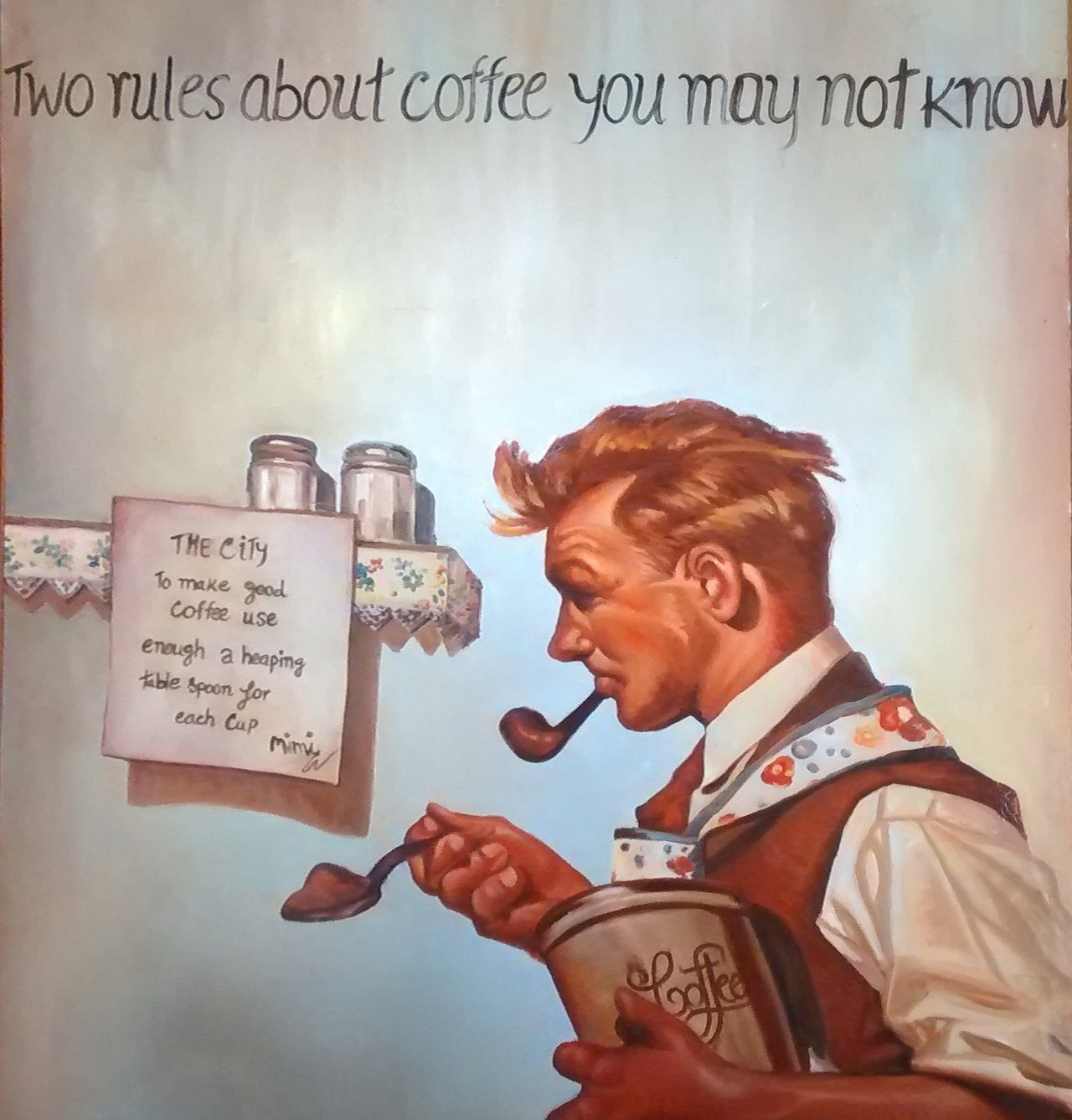 Two rules about coffee you may not know