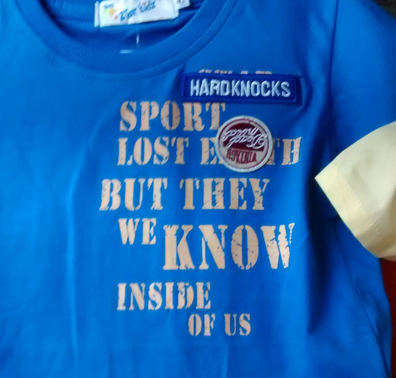 Hardknocks sport lost e*h but they we know inside of us